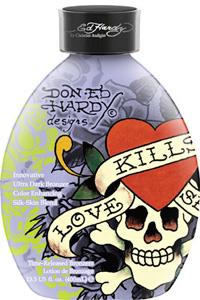 Ed Hardy Tanning LOVE KILLS SLOWLY