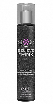 Крем для солярия Believe in Pink Black Bronzer™